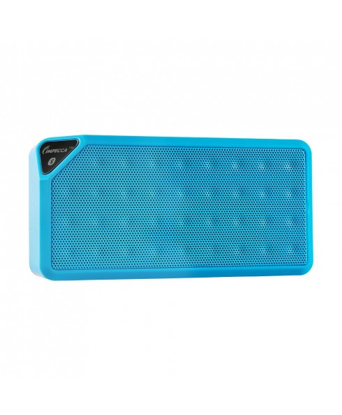 Portable Bluetooth Speaker with Aux Input - Blue