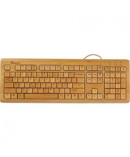 Full Bamboo Custom Carved Designer Keyboard