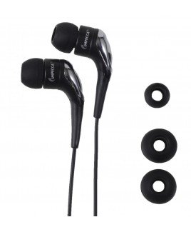 Light Weight Stereo Earphones - Black