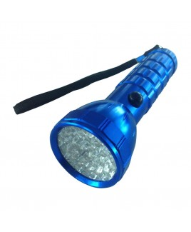 Hi-Lite 28-LED Flashlight, Blue