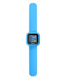 4GB MP3 and Video Player Slap Watch - Blue