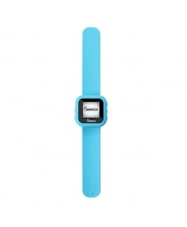 "8GB MP3 Slapwatch with 1.5"" TFT Display - Blue"