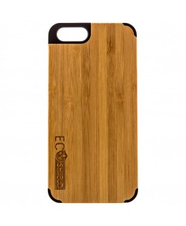Eco Shield Natural Wood Case for iPhone 6 and iPhone 6s, Shades of Green (made of Bamboo)