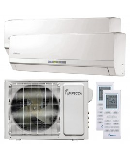 Flex Series Two 9,000BTU Units Wall-Mounted Ductless Split Units with Inverter Technology