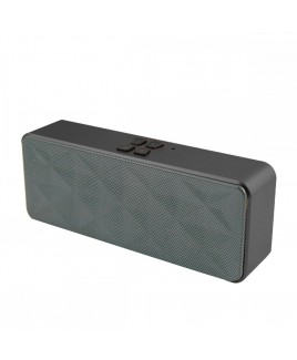 Hi-Fi Stereo Bluetooth Speaker, Grey