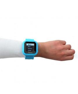 "8GB MP3 Slapwatch with 1.5"" TFT Display - Blue"