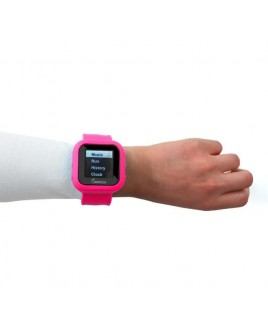 "8GB MP3 Slapwatch with 1.5"" TFT Display - Pink"
