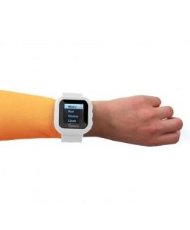 "8GB MP3 Slapwatch with 1.5"" TFT Display - White"