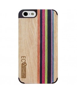 Eco Shield Natural Wood Case for iPhone 6 and iPhone 6s, Natural Harmony (made of Maple & Multi-Mix)