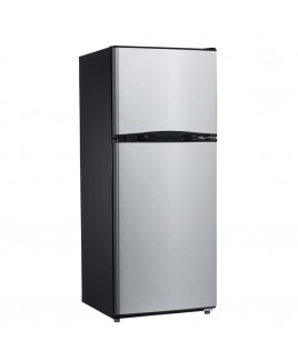 9.9 Cu.Ft. Refrigerator with Top Mount Freezer - Stainless Steel
