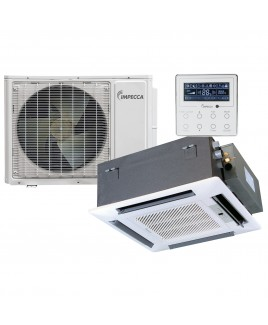 22,800 BTU Fixed Series Cassette Indoor Unit and 33,600 BTU Outdoor Split Unit