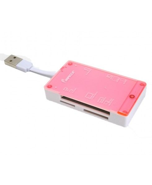 CRB60 All-in-1 Multi Card Reader - Pink