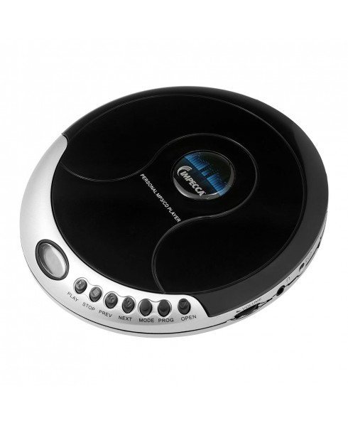 Personal CD/MP3 Player with Stereo Earbuds