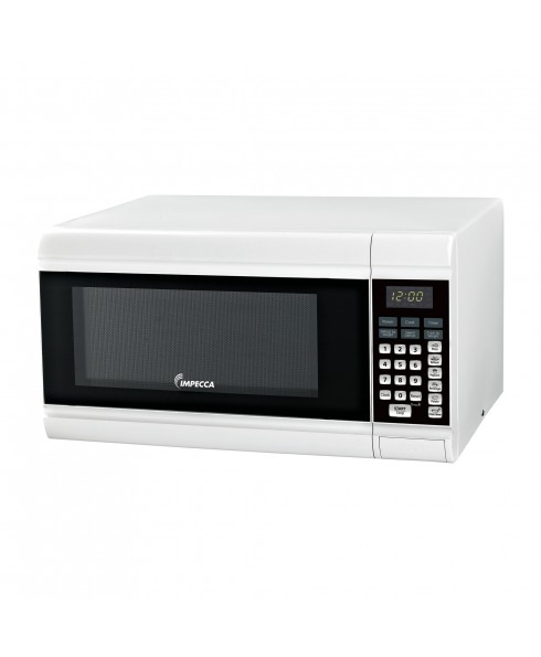 IMPECCA .9 CU FT COUNTER MICROWAVE WHITE