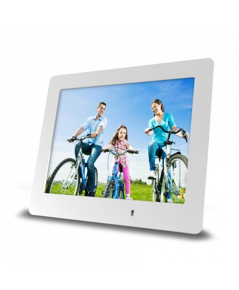 8 Inch Ultra-Slim Digital Frame - White