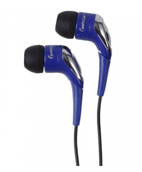 Light Weight Stereo Earphones - Blue