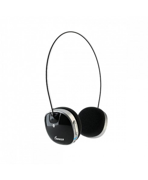 Impecca Bluetooth Stereo Headset with Built in Microphone, Black