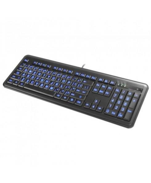 Large Font Illuminated Keyboard