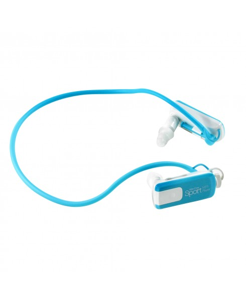 IMPECCA SPORTS 8GB MP3/WMA PLAYER - AQUA