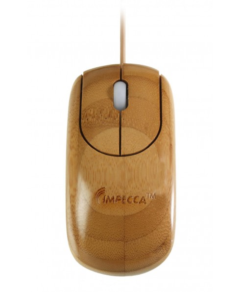 Custom Carved Designer Bamboo Mouse