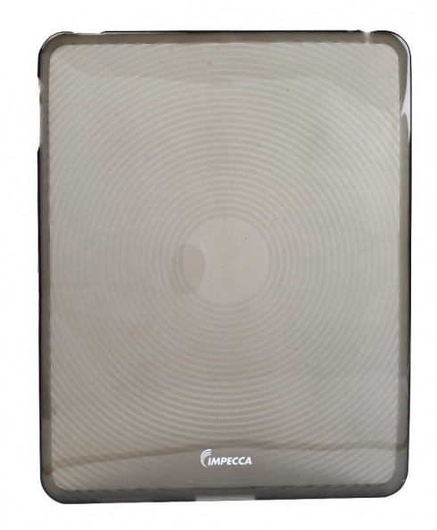 IPS123 Fingerprint Flexible TPU Protective Skin for iPad™ - Smoke