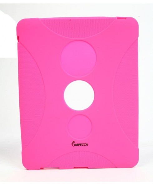 IPS130 Shock Protective Heavy Duty Rubber Skin for iPad™ - Pink