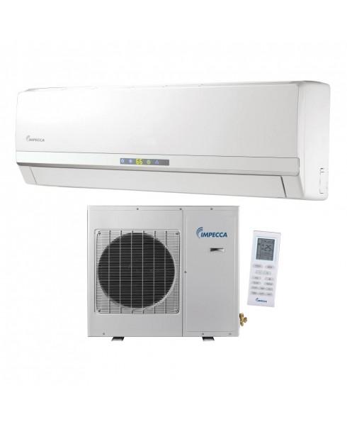 12,000 BTU Ductless Heat & Cool Indoor & Outdoor Wall Mounted Inverter Split Unit Combination