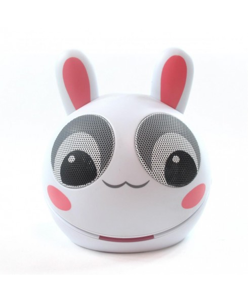 Zoo-Tunes Compact Portable Character MP3 Speaker, Razzle the Rabbit