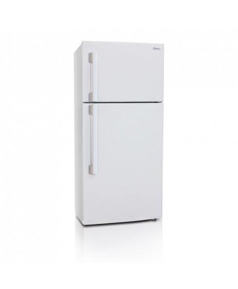 18 Cu. Ft. Apartment Refrigerator with Top Mount Freezer, White
