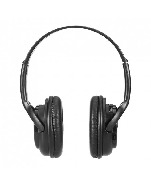 Bluetooth Stereo Headset + Music Player - Black