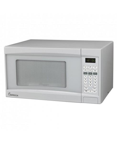 Impecca 0.7 Cu. Ft. 700 Watt Countertop Microwave Oven, White