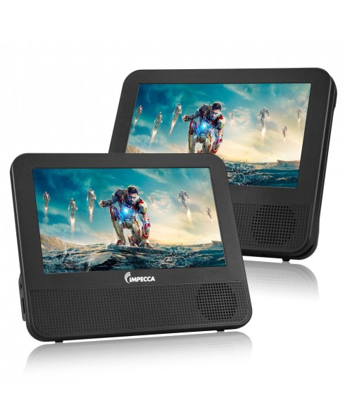 DVPDS722 7 inch Dual Screen Portable DVD Player