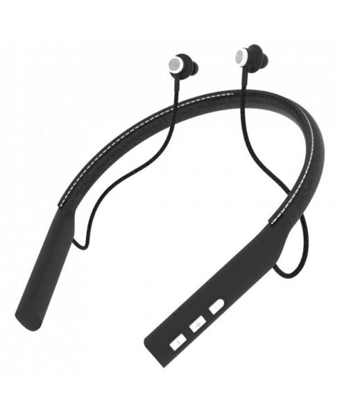 Impecca Bluetooth Leather Neckband Stereo Earphones