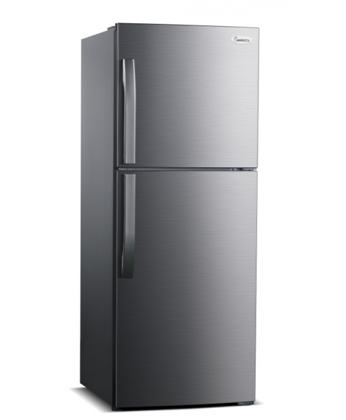 "24"" 10.1 Cu. Ft. Refrigerator with Stainless Steel Doors, Grip Handle and Top Mount Freezer"