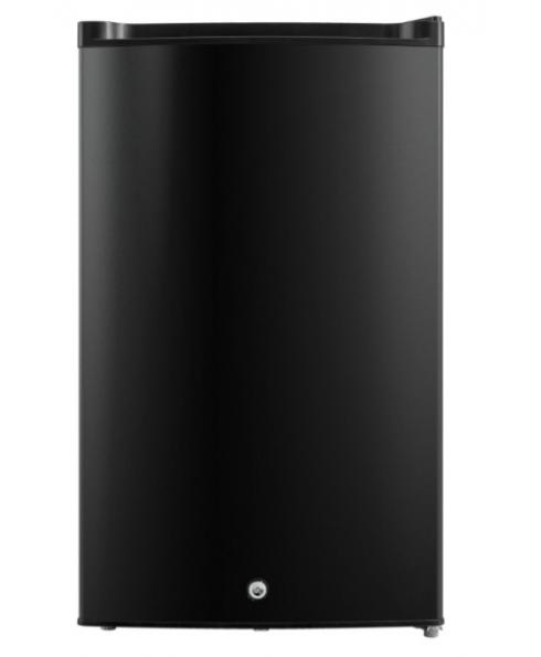 Impecca 3.0 Cu. Ft. Compact Upright Freezer with Lock, Black