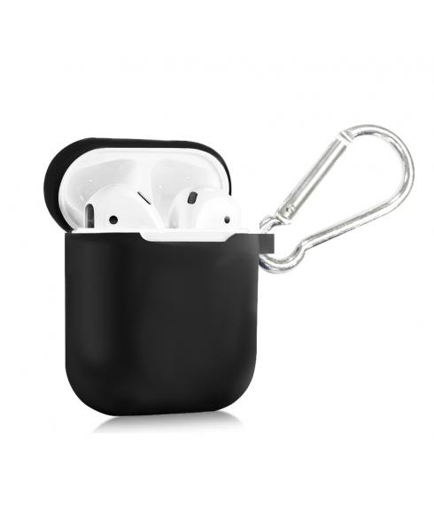 True Wireless Silicon Case - Jet Black