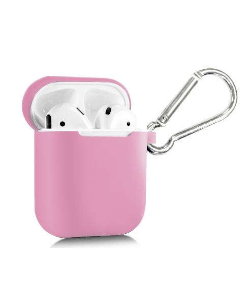True Wireless Silicon Case - Soft Pink
