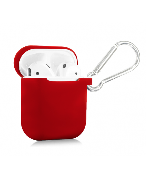 True Wireless Silicon Case - Scarlet Red