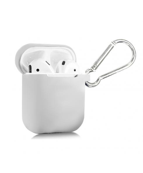 True Wireless Silicon Case - Pure White