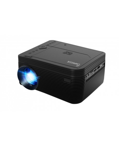 LED Home Theatre Projector with DVD (Black)