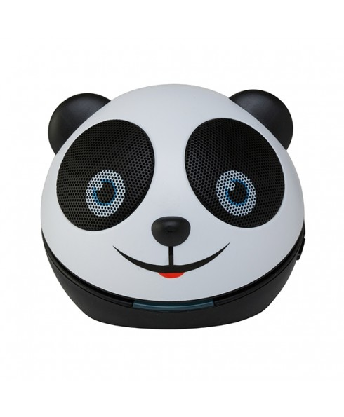 Zoo-Tunes Compact Portable Bluetooth Stereo Speaker, Amanda the Panda