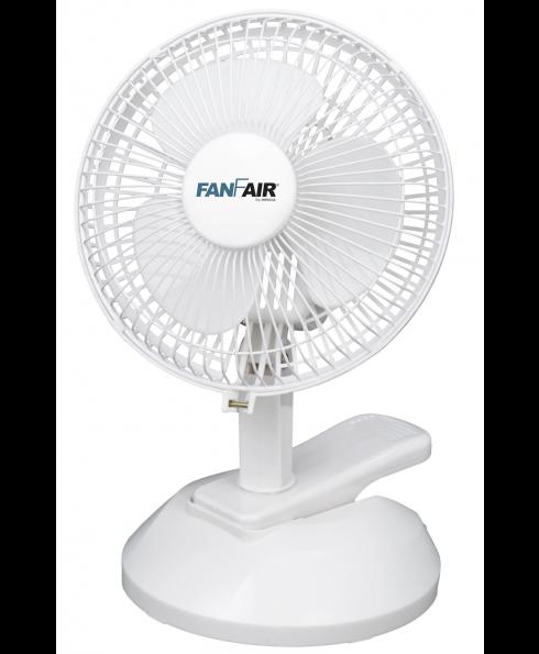 """FanFair 6"""" Table + Clip Fan"""