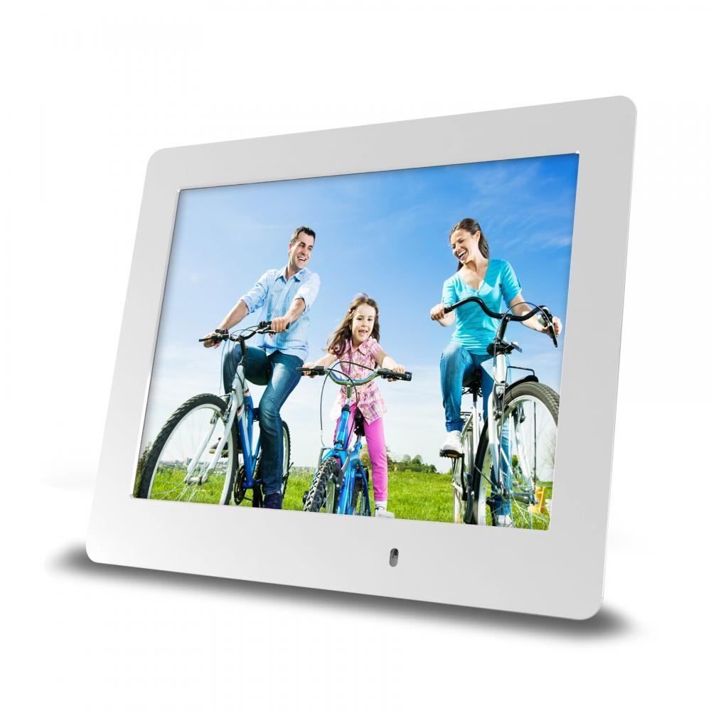 8 Inch Ultra Slim Digital Frame White