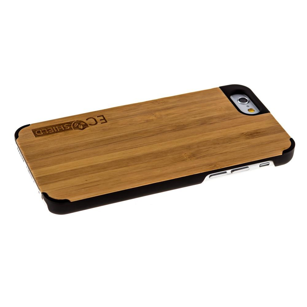 eco shield natural wood case for iphone 6 and iphone 6s shades of green made of bamboo. Black Bedroom Furniture Sets. Home Design Ideas