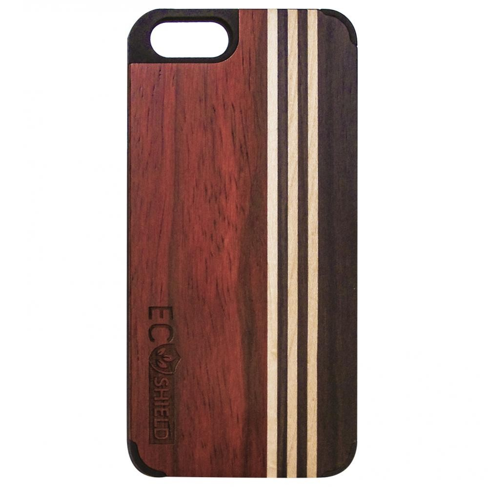 eco shield natural wood case for iphone 6 and iphone 6s forest symphony made of rosewood. Black Bedroom Furniture Sets. Home Design Ideas
