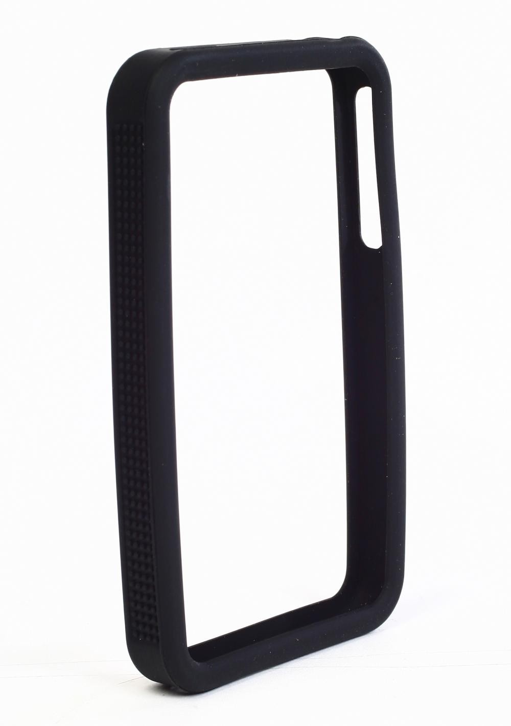 reputable site cecd7 10189 IPS225 Secure Grip Rubber Bumper Frame for iPhone 4™ - Black