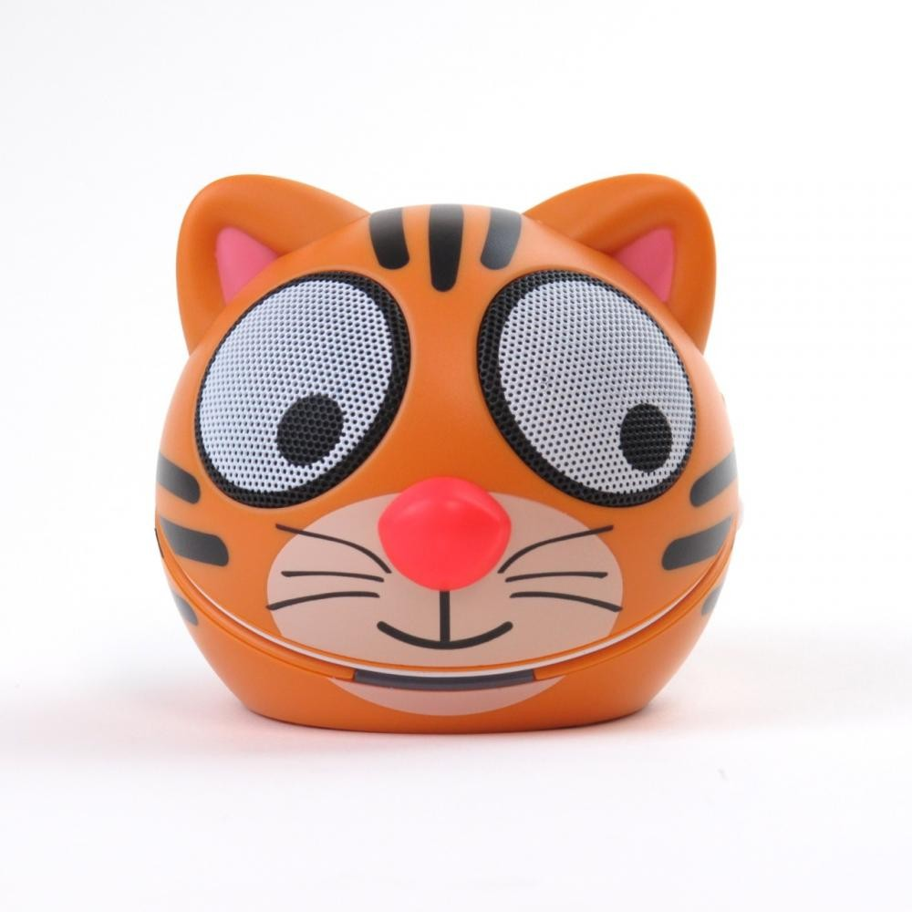 zoo tunes terry the tiger compact portable character stereo speaker. Black Bedroom Furniture Sets. Home Design Ideas