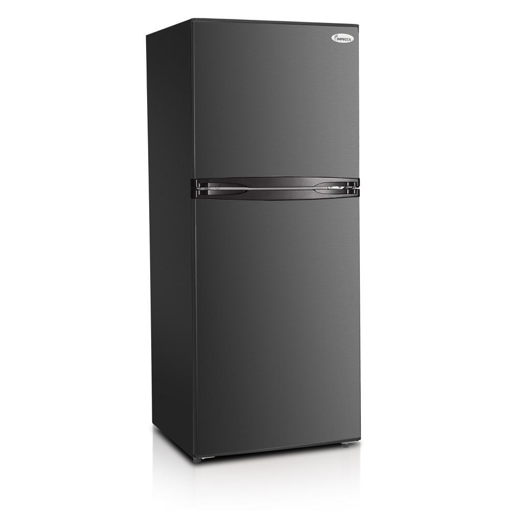 Apartment Fridge: 10.1 Cu. Ft. 24-inch Apartment Refrigerator With Top Mount