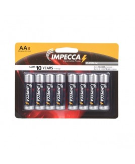Alkaline AA LR06 Platinum Batteries 8-Pack