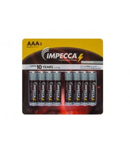 Alkaline AAA LR03 Platinum Batteries 8-Pack
